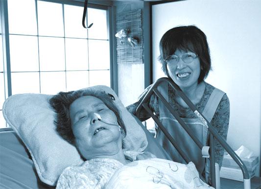 介護は楽しい!母と一緒にいられて幸せです。