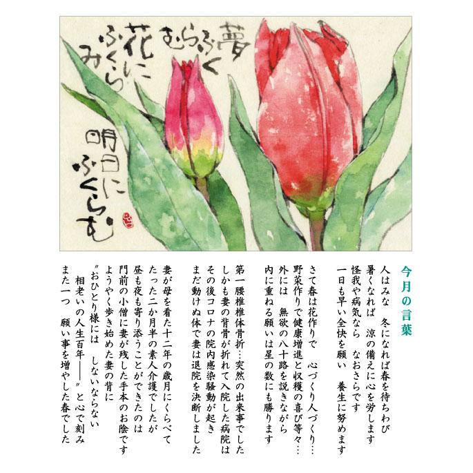 140号(2021.4)チューリップ/鬱金香